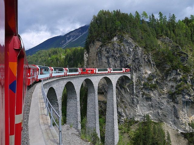 Glacier Express: An Irresistible Swiss Train Ride