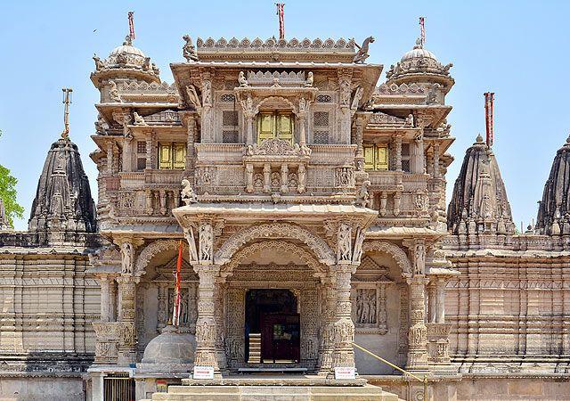Hutseeing Jain Temples in Ahmedabad