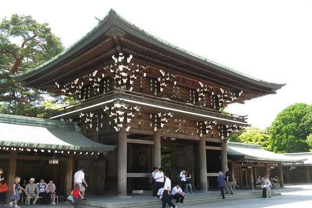 Meiji Shrine, Japan
