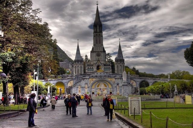 Sanctuary of Our Lady of Lourdes, Lourdes, France