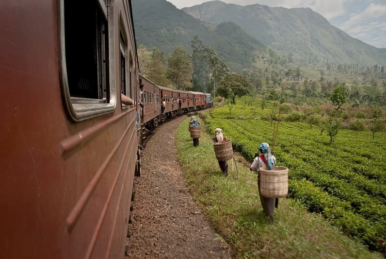Sri Lanka: A little Tear Drop shaped Asian country