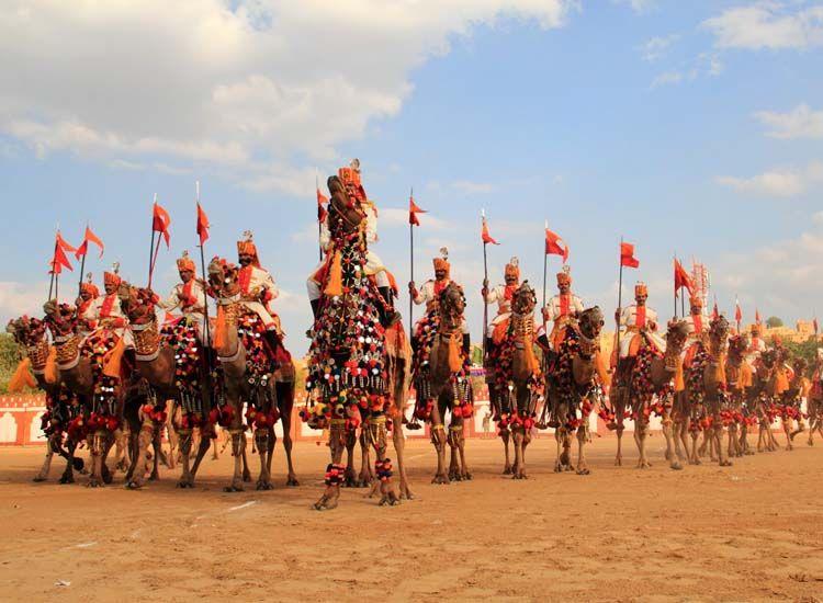 Jaisalmer camel fair