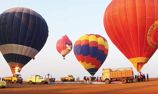 Top 10 Places for Hot Air Balloon Rides in India |