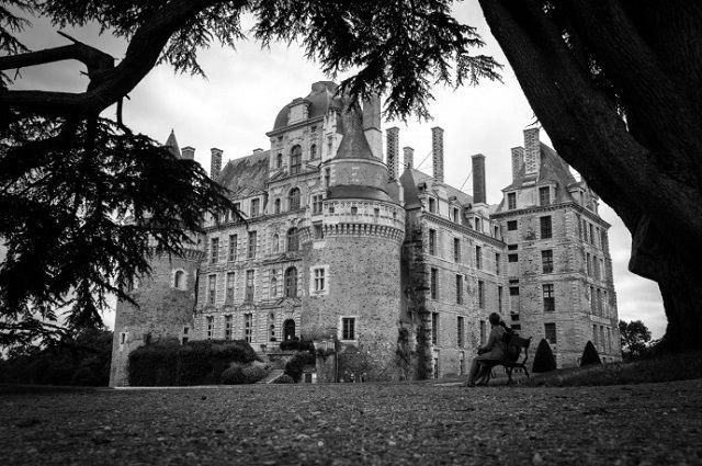 Chateau de Brissac,Maine-et-Loire - The castle of Brissac is the tallest castle in france