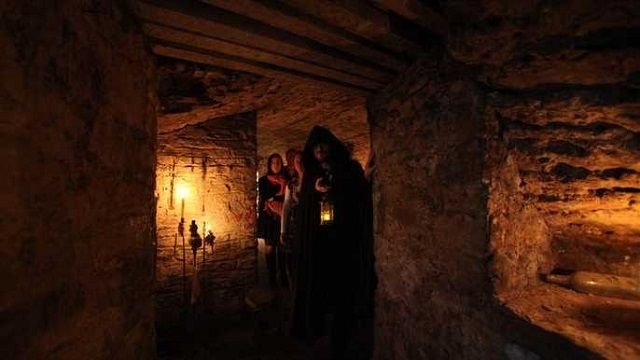 The Real Mary King's Close. Visitor attraction and underground guided tour hidden deep beneath Edinburgh's Royal Mile.