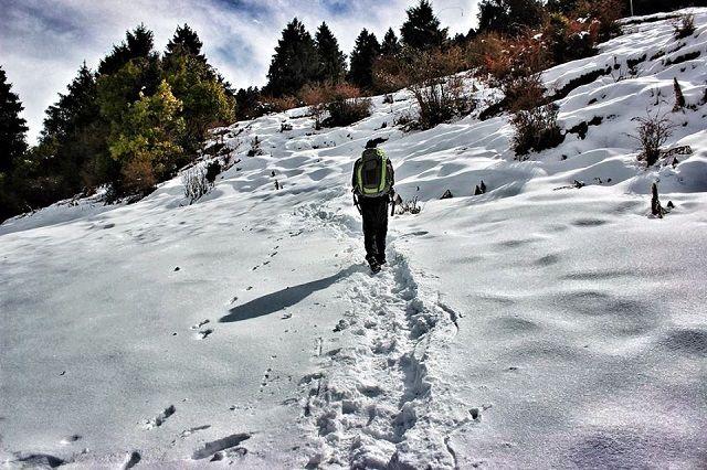 Prashar Lake Trek in Winter