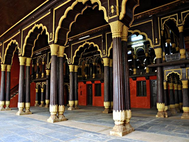 Tipu Sultans Palace and Fort