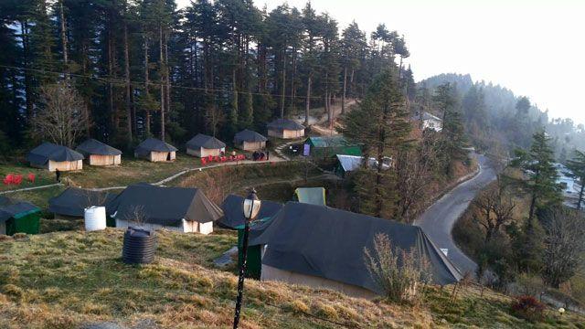 Kanatal Camp in Dhanaulti
