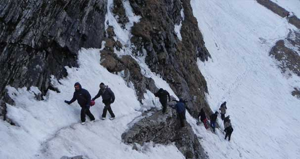 Winter Trek to Kauri Pass