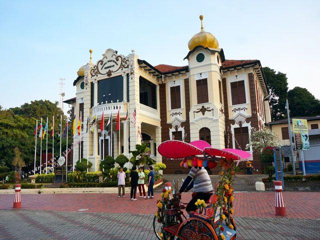 melaka city of Malaysia