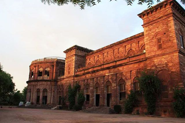 Raj Niwas Palace in Dholpur, Rajasthan