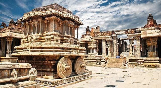 Ruins of the Vijayanagara Empire, Hampi, Karnataka
