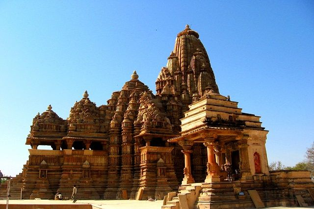 The Temple Complex at Khajuraho, Madhya Pradesh