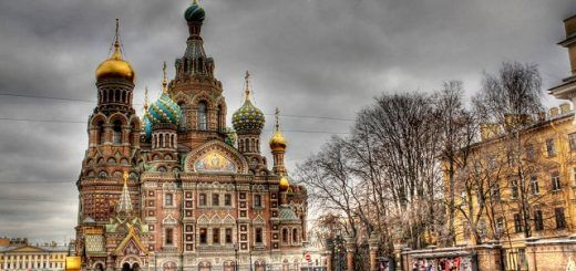 Church of the Savior on Spilled Blood, St. Petersberg, Russia