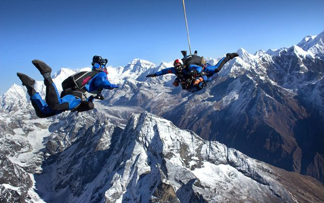 Mt Everest Skydive, Nepal