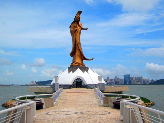 The KUN Iam Statue of Macau