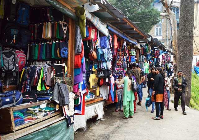 Tibetan Market Shimla