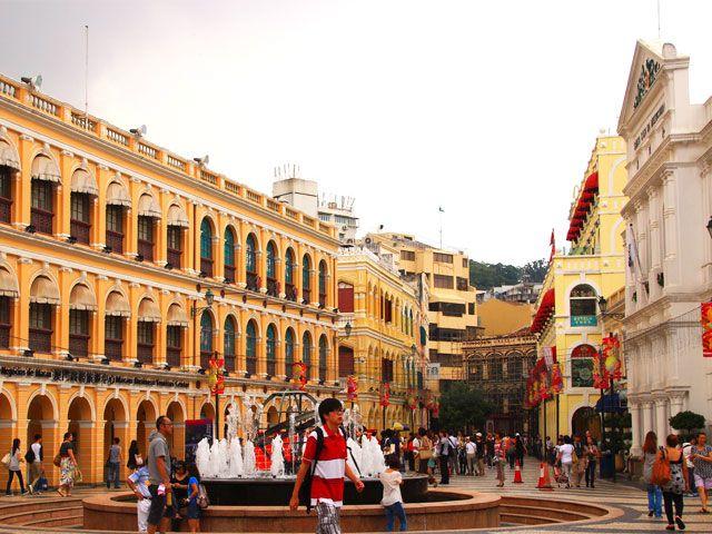 Senado Square at Macau