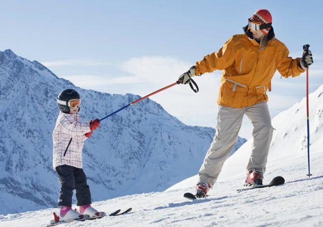 Skiing in Twang