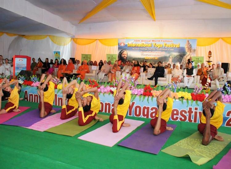 International Yoga Festival 2020: Come and Experience the Spiritual Bliss of India