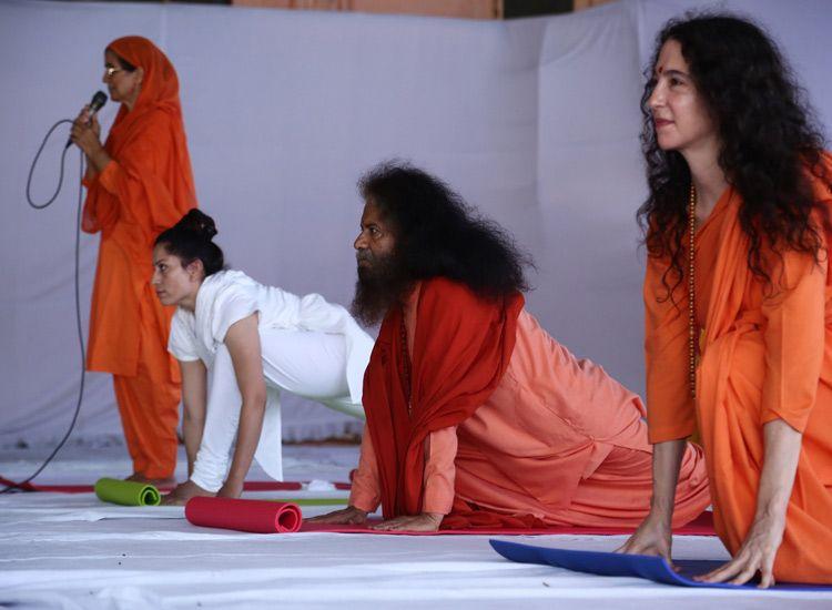 presenters International yoga festival