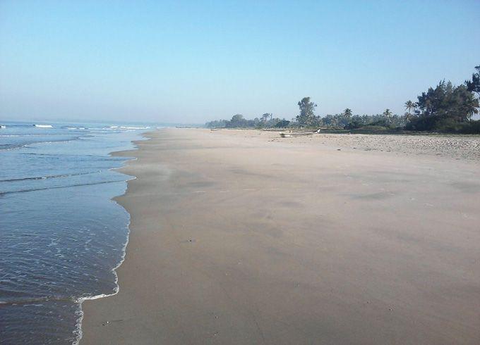 Tarkali-beach,-Maharashtra-