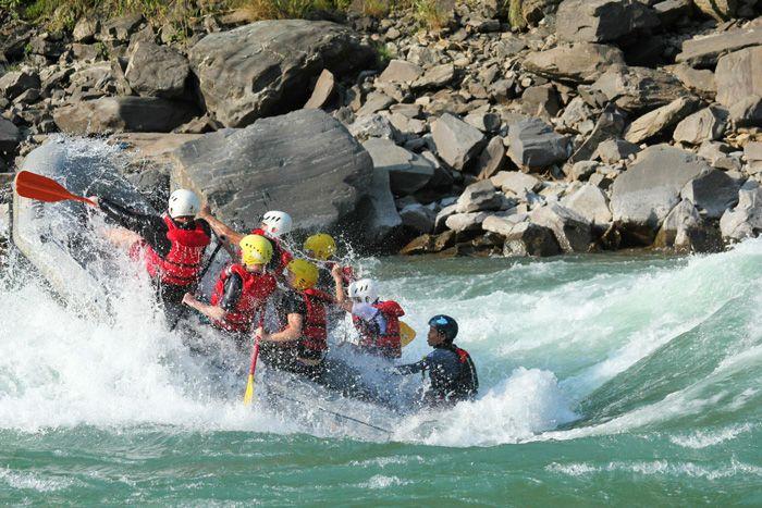 White Water Rafting, Uttarakhand