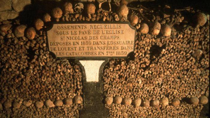 catacombes de in paris