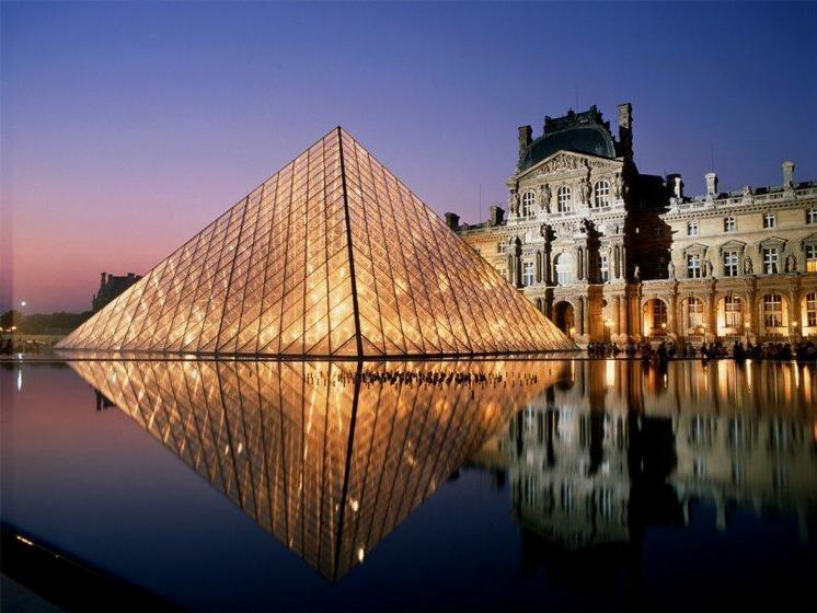 du Louvre Museum in Paris