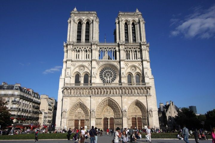 Notre Dam Cathedral in Paris