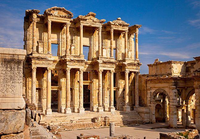 Ancient Ephesus in Turkey