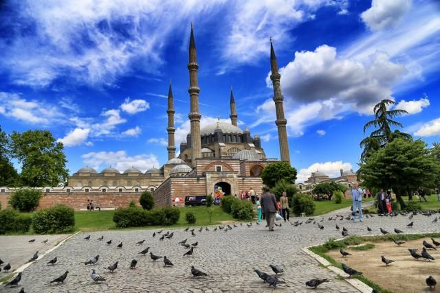 Selimiye Camii in Edirne, Turkey