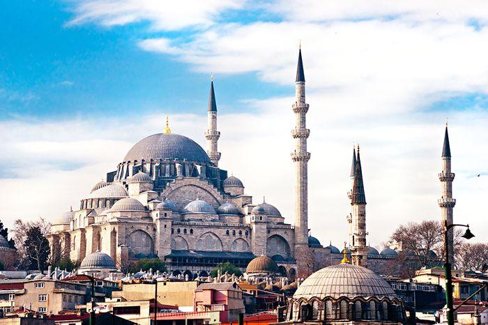 Süleymaniye Mosque of Istanbul
