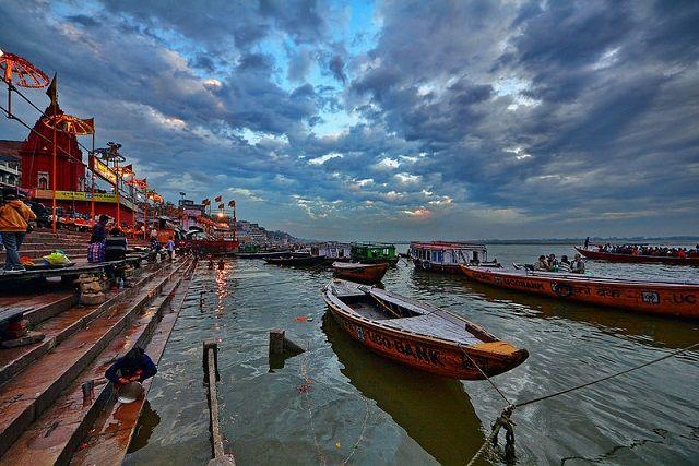 Boat Ride in Ganges River Varanasi