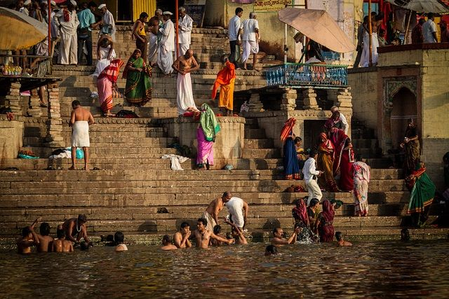 Take Bath in Ganges