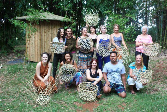 bumboo-weaving