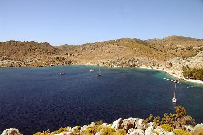 Ciftlik Island in Turkey