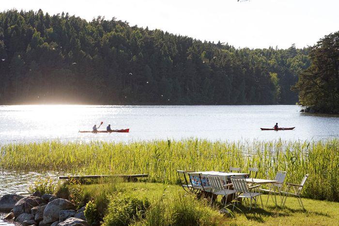 Lake Mälaren in Sweden