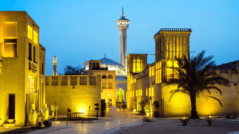 Bastakiya Quarter in Dubai