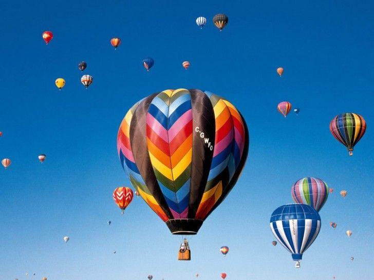 Hot air ballooning in Dubai