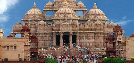 Swaminarayan Akshardham Temple in Gandhinagar, Gujarat