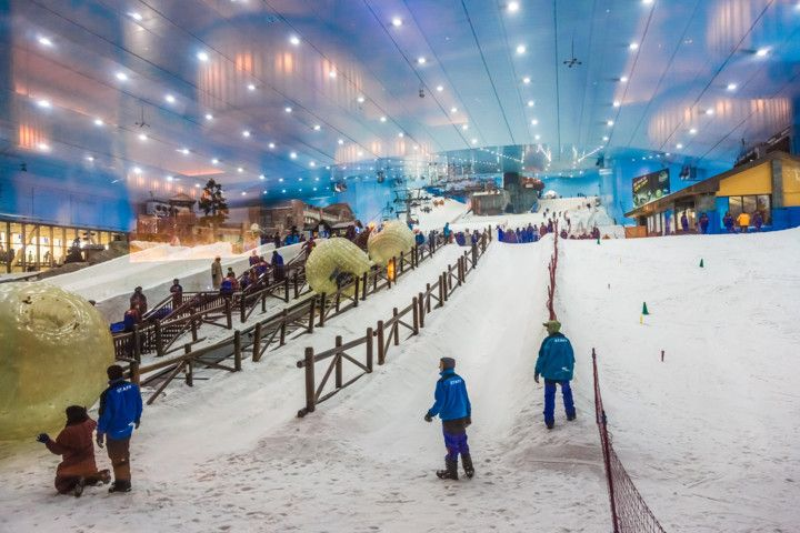 Indoor Ski Resort in Dubai