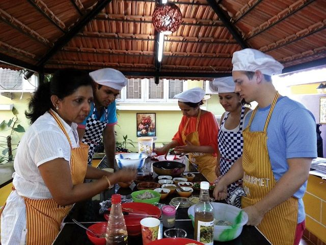 cooking classes in south goa