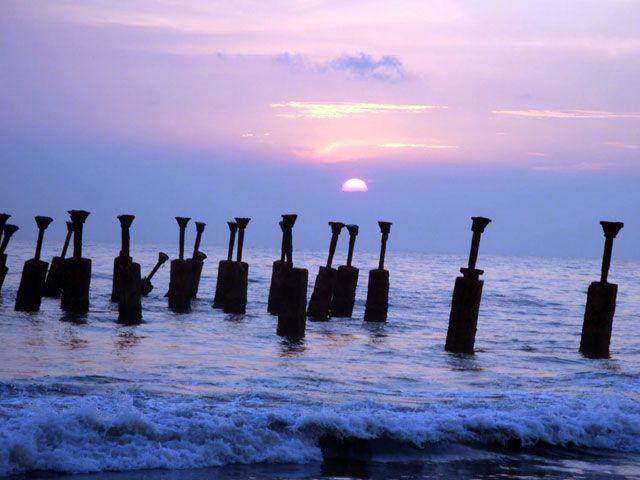 Kozhikode Beach, Kerala