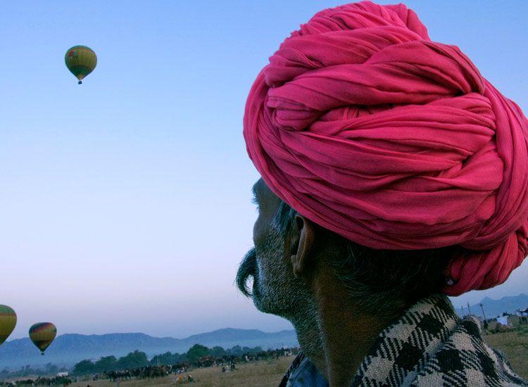 Hot-air-Balloning