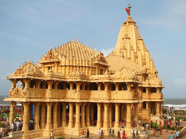 Somnath Temple in Gujarat: best places to visit in gujarat