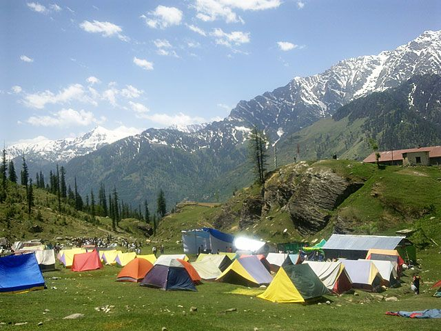 Camp in Kothi, Himachal Pradesh