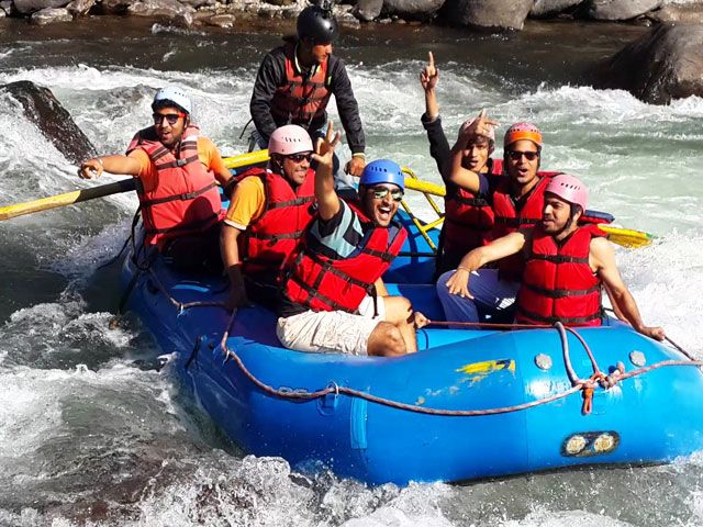 River Rafting at Beas River, Manali