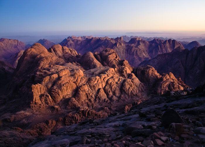 Mt. Sinai Mountain in Egypt