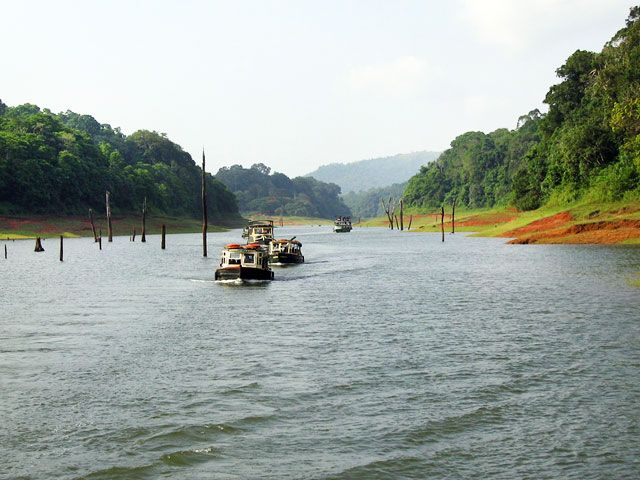 Periyar Lake: best lakes in kerala